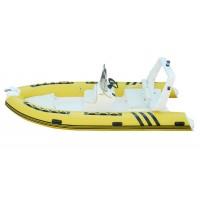 FUNSOR MARINE RIB boat FQB-R480C - жълт цвят  4.8 m