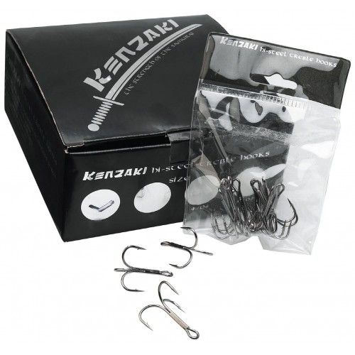 Kenzaki Hi-Steel Treble Hook