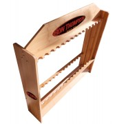 R.T. Wooden 24 Rod Stand