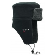 Eiger Fleece Korean Hat Black